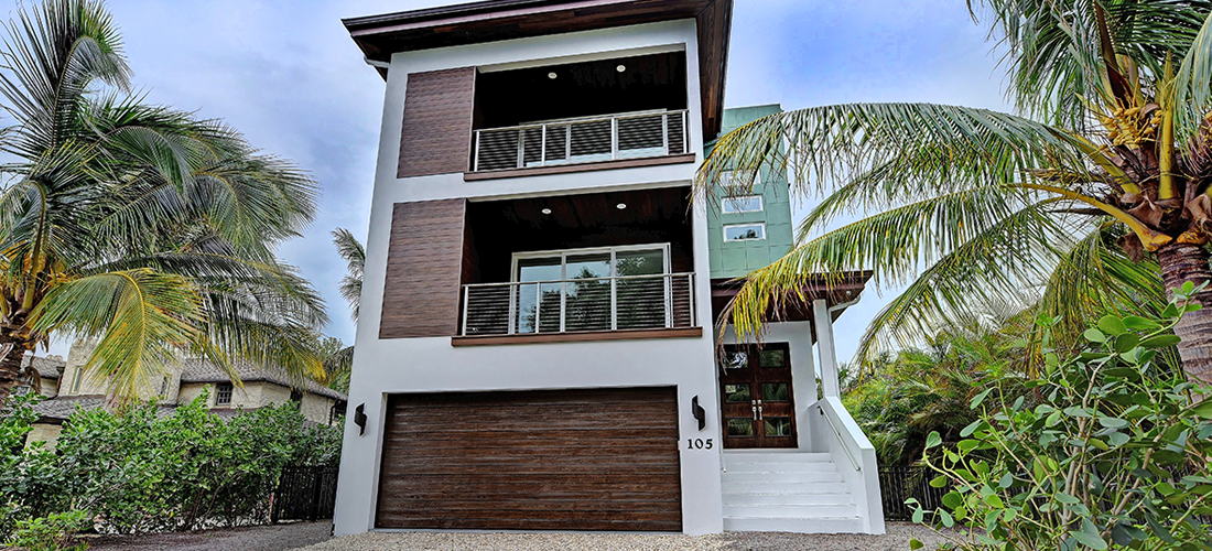 new modern house Anna Maria island Florida